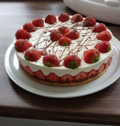 Photo of Erdbeer Mascarpone Torte