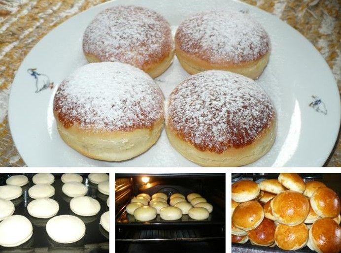 Photo of Mit Pflaumenmus oder Nutella gefüllte Pfannkuchen aus dem Ofen