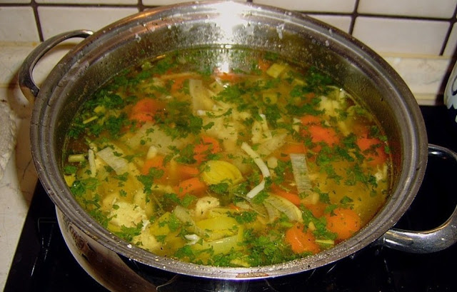 Photo of Mutters Hühnersuppe