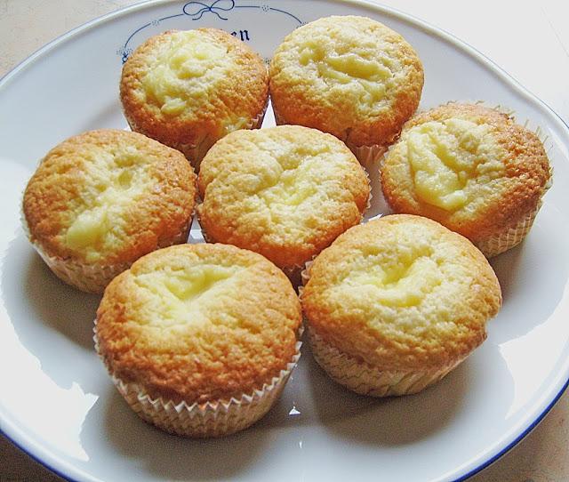 Photo of Vanillepudding Muffins
