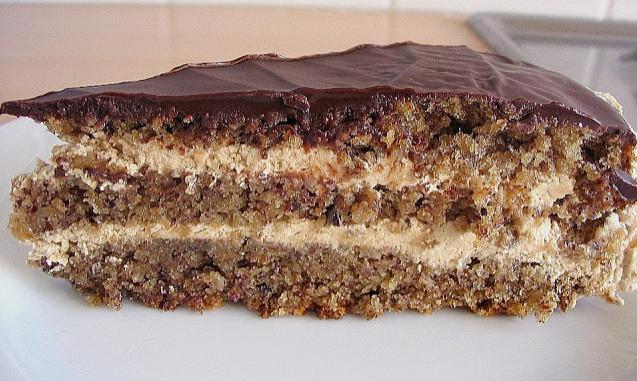 Photo of Kaffee Nuss Torte