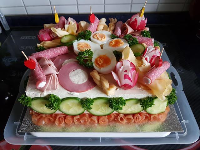 Photo of Salat Torte