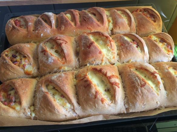 Photo of Handbrot mit champignon und käse