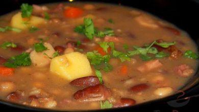 Photo of Gemüsesuppe mit Rauchfleisch