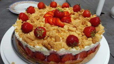 Photo of Erdbeerstreuselkuchen