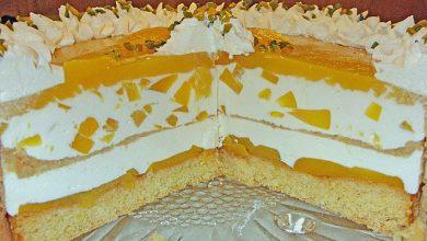 Photo of Pfirsich – Joghurt – Torte