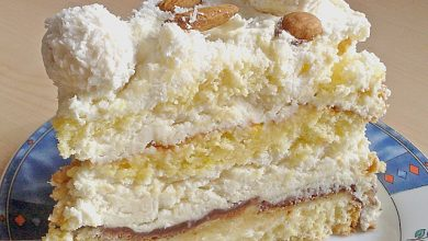 Photo of Kokos – Raffaello – Torte mit Nougat und Marzipan