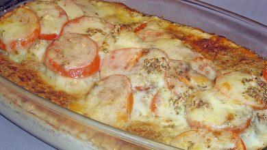 Photo of Hähnchenbrustfilet mit Tomate und Mozzarella in Kräuter Sahne Sauce