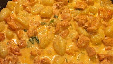 Photo of Curry Gnocchi mit Hähnchen