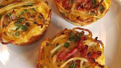 Photo of Spaghetti Carbonara-Muffins