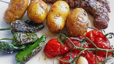Photo of Feurige Kartoffelspieße vom Grill