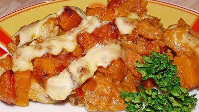 Photo of Süßkartoffel – Hähnchen – Auflauf
