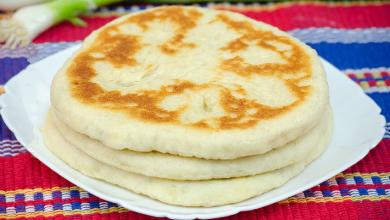 Photo of Knoblauch fladen mit mozzarella, in 15 minuten fertig !