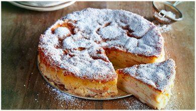 Photo of Apfel eierlikör kuchen, einfach und sehr lecker !