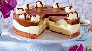 Photo of Birnen-Schoko-Torte