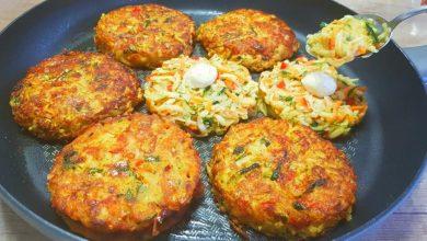 Photo of Gemüsefrikadellen mit mozzarella