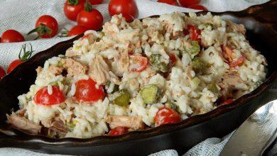 Photo of Thunfisch – Reis – Salat