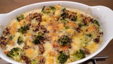 Photo of Gnocchi Gemüseauflauf mit Hackfleischsoße